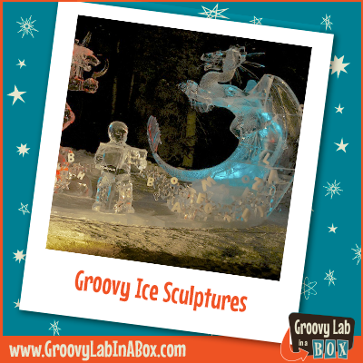 Groovy Ice Sculptures