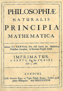 Mathematical Principles of Natural Philosophy by Sir Isaac Newton