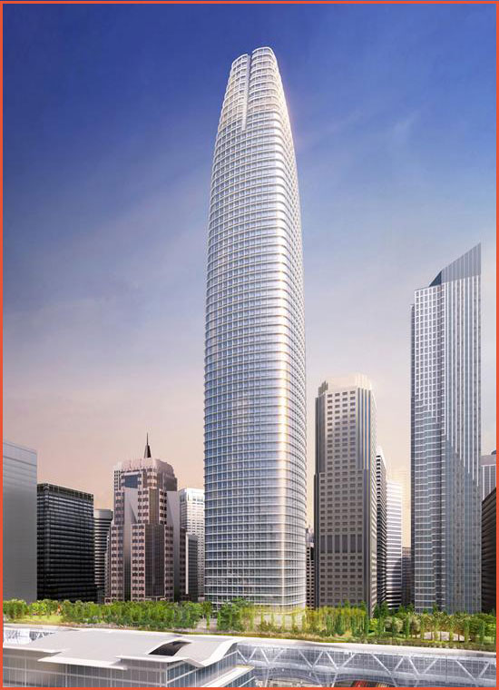 Salesforce Tower (once called the Transbay Tower)